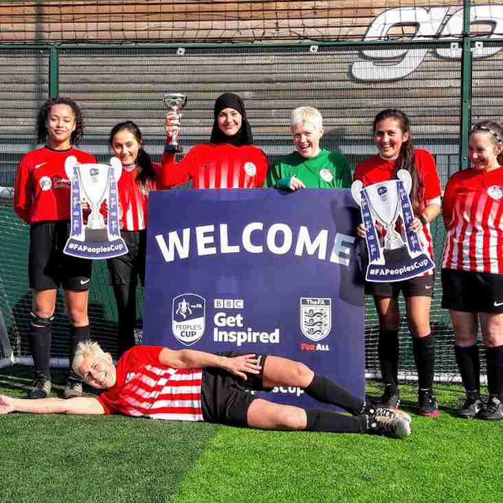 An excellent start for Caversham AFC Ladies