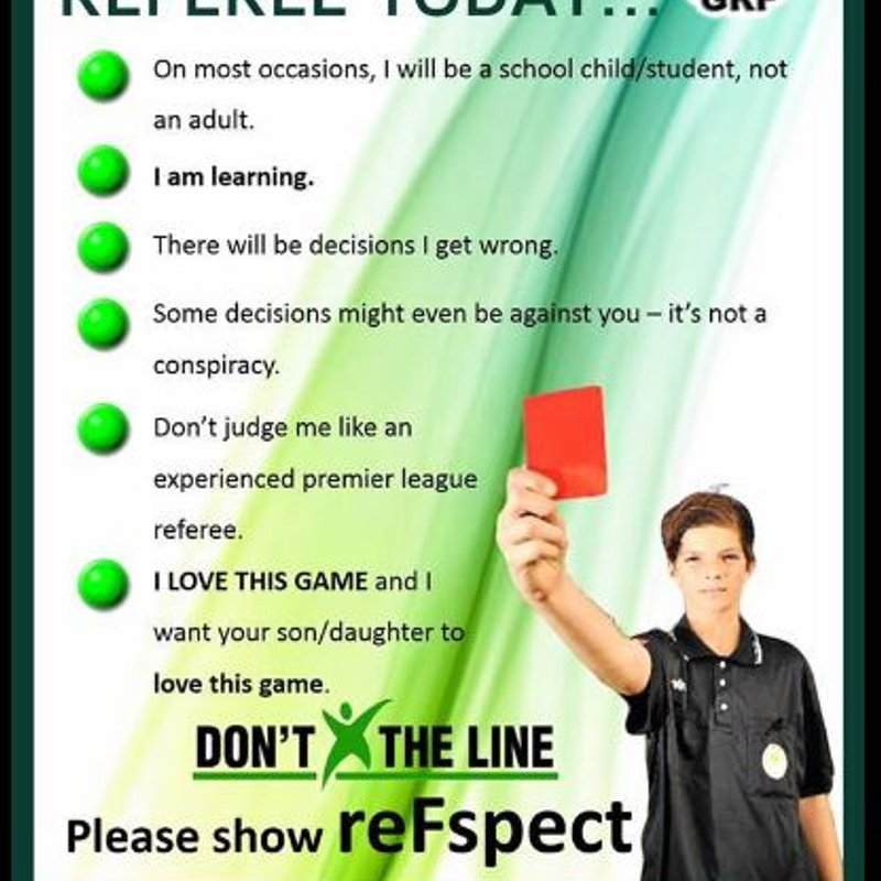 Respect the Ref