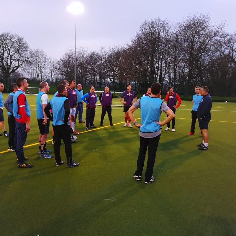 Caversham AFC Coaches go Back to School