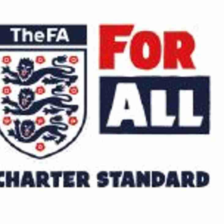 Caversham AFC - Proud to be an FA Charter Standard Club