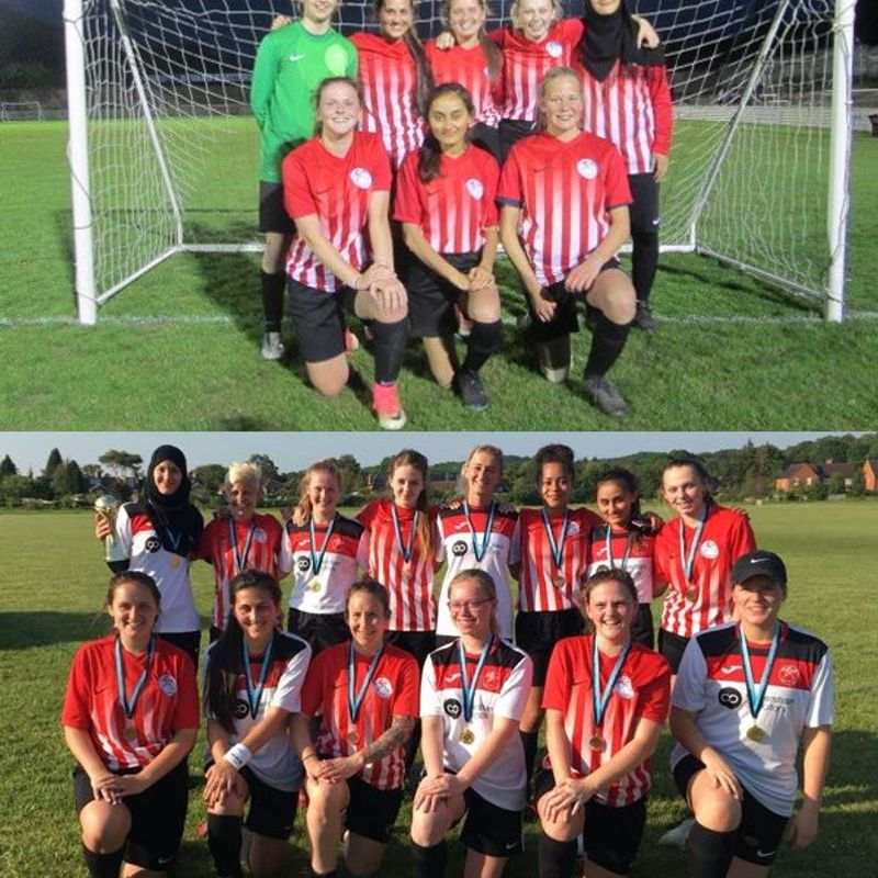 Great end to the season for Caversham AFC Ladies