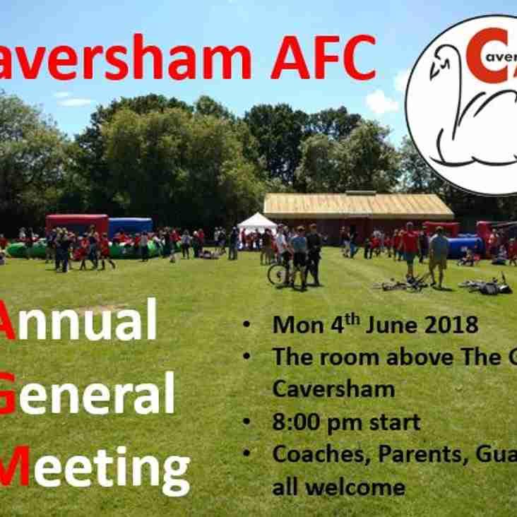 Caversham AFC AGM