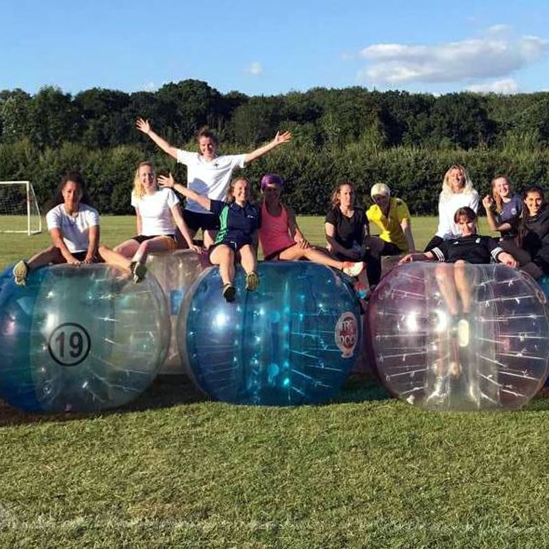 Bubble Footy for Caversham Ladies!