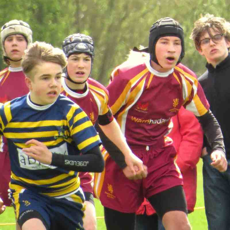 U14's V Old Crossleyans, Yorkshire Bowl Final 19/4/15