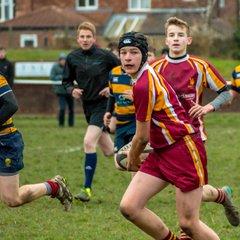 U16's V Durham 18/12/16