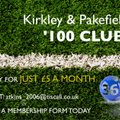 Grassroots Football Needs Your Support KPFC 100 Plus Club Join For £5.00 Per Month