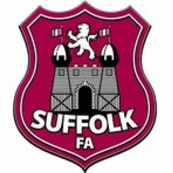 KPFC Have 4 youth teams in Suffolk F A Quarter Finals