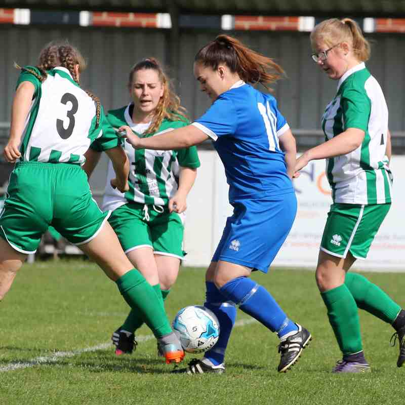 KPFC Ladies 6  Gorleston Ranger Ladies 1