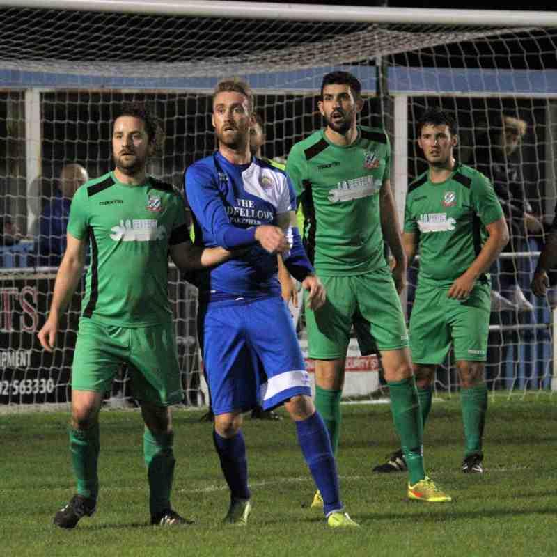 KPFC 3 Gorleston 2 League Cup