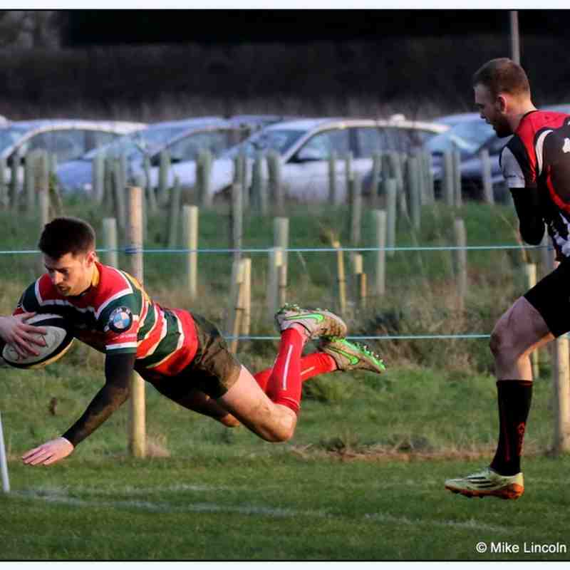 Lincoln 1st XV 66 vs Chesterfield panthers 1st XV 24