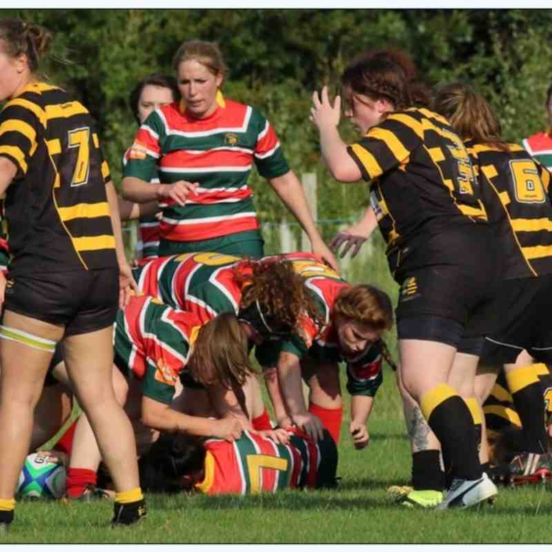 Lincoln Ladies XV 21  vs Derby Vipers 27 18/09'2016