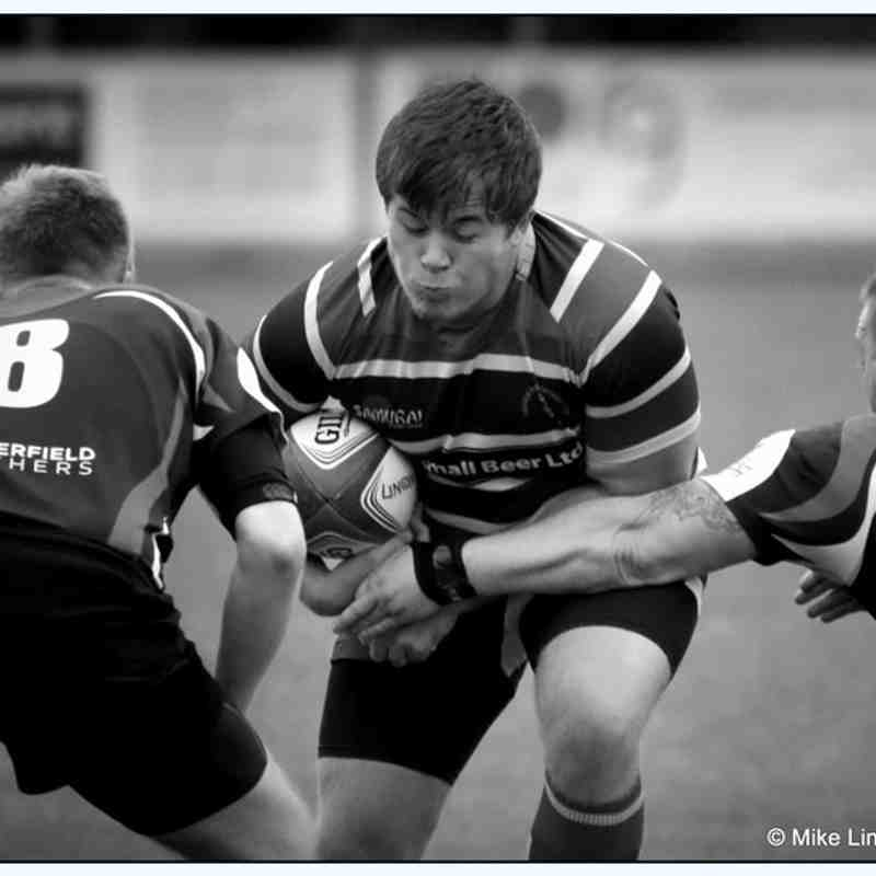 Lincoln 2nd XV 50 Vs Chesterfiled panthers 2nd XV 7 Friendly