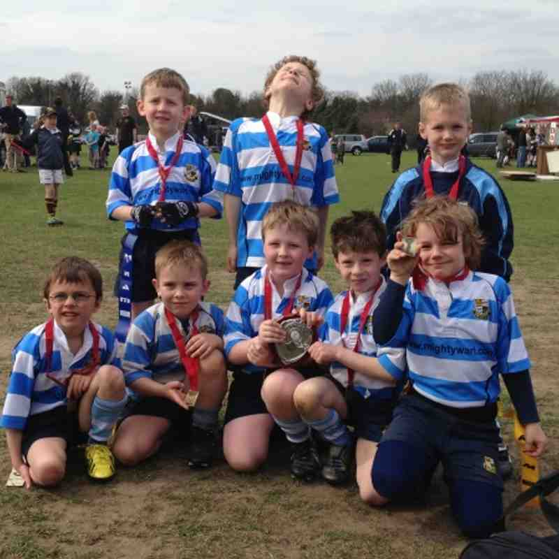 U7's Champs at the Surrey Rugby Festival