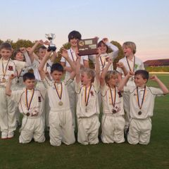 Whitchurch CC U10's - Shropshire champs