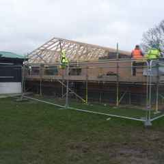 Clubhouse Build Progressing