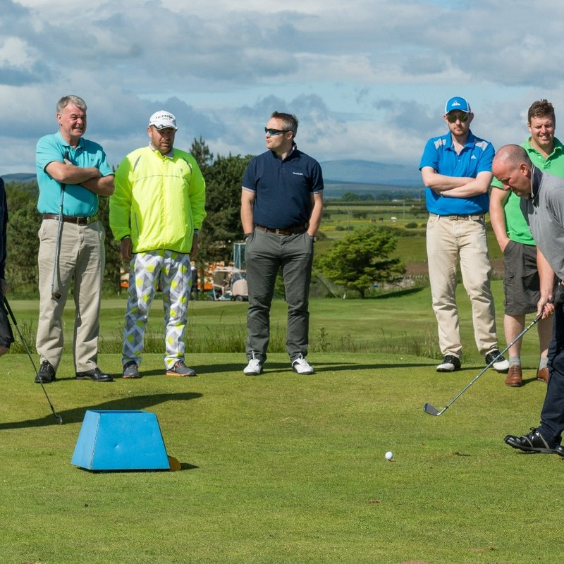 Annual Golf Day at Seahouses Golf Course