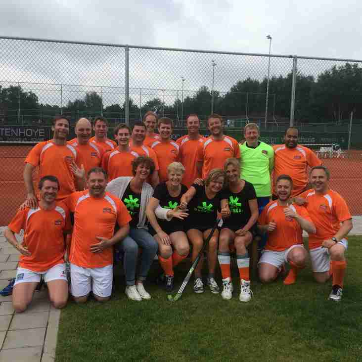 Sonning 'Over 40s' Win the Double in Belgium – June 2015