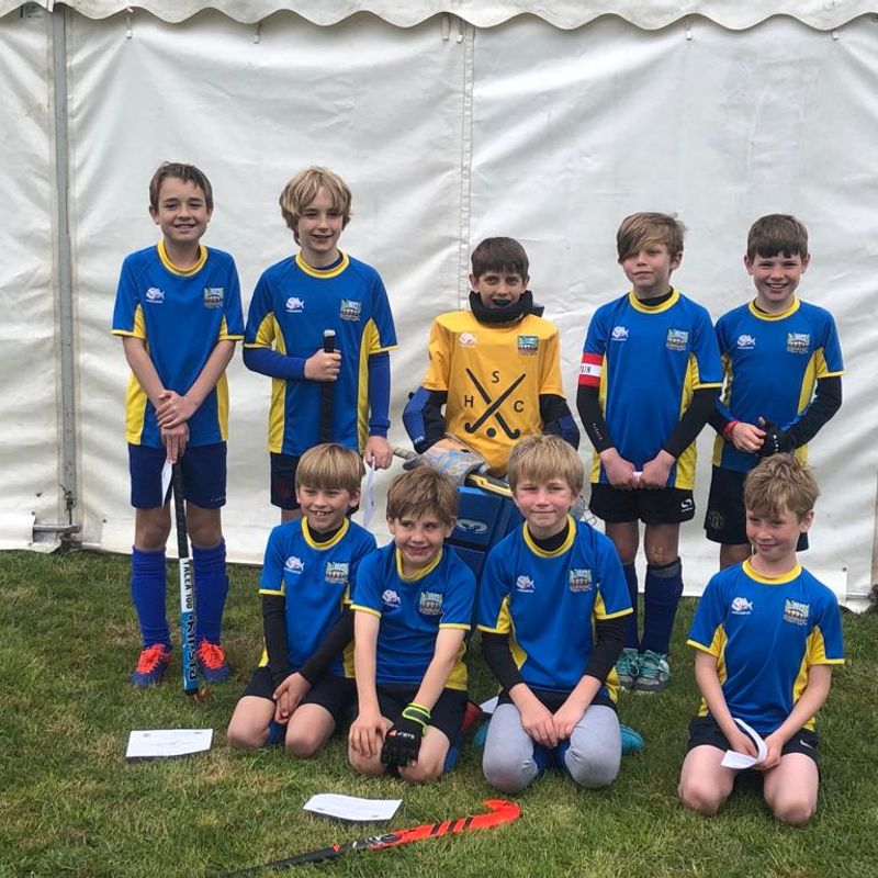 Great experience for the under 10s at the South of England Regional tournament