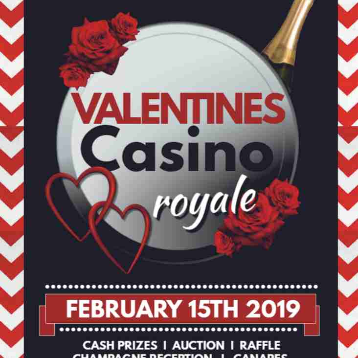 Formby Cricket Club - Valentines casino royale  - Feb 15th