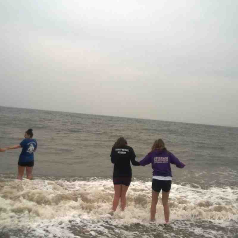 U19 BH Beach training session Seaham 5/5/14