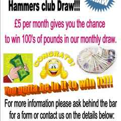 Hammers Club Prize Results