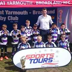 Woodford RFC U9s tour to Great Yarmouth