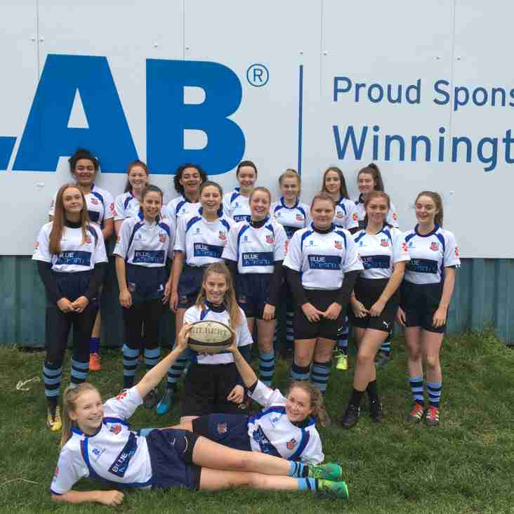 U15's took part in a festival at Chester RUFC