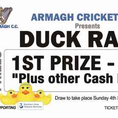 Armagh Cricket present The Duck Race