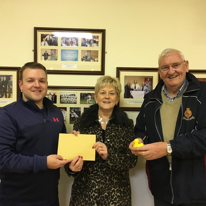 Club Donation to Southern Area Hospice