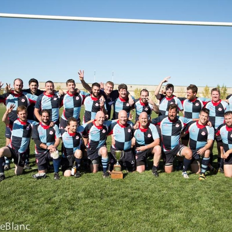 SA3 - Men's 3rd Division beat Lethbridge 45 - 26