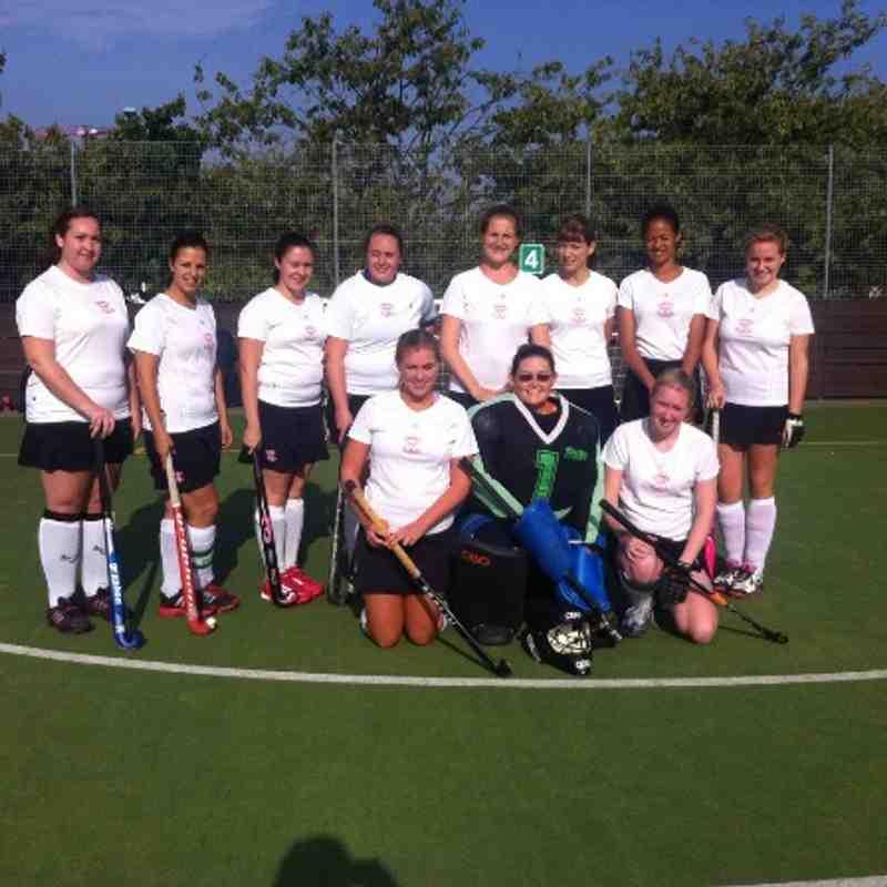 Ladies 2s at Uni of Essex