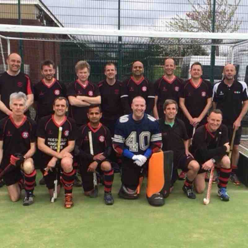 Men's Vets Semi Final v Old Wulfrunians 6-4-14