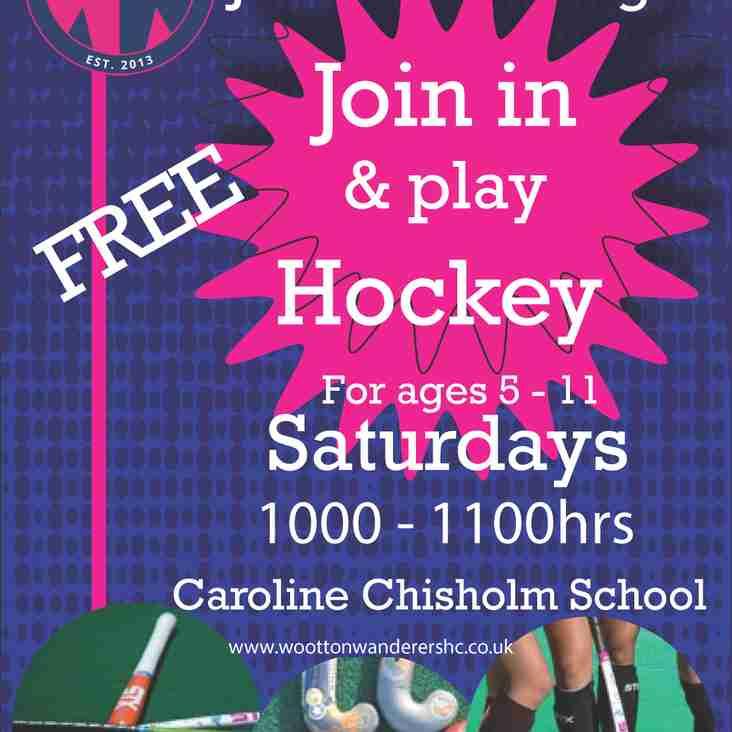 Junior Training @ Caroline Chisholm School