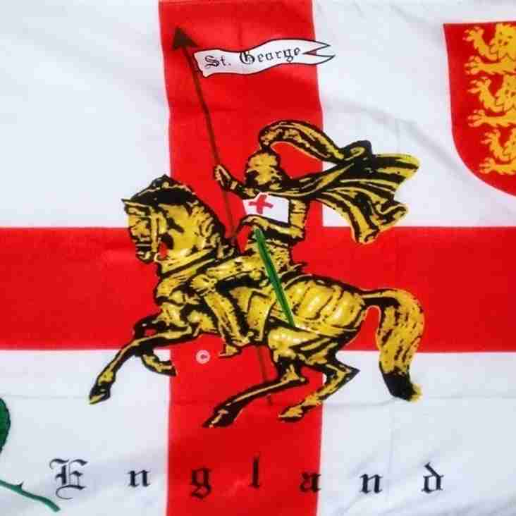 "St Georges day lunch ""NOW SOLD OUT"""