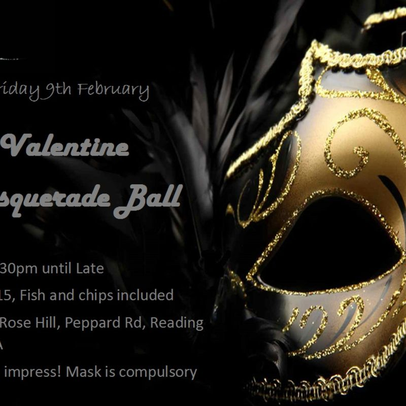 Abbey RFC's Valentines Masked Ball
