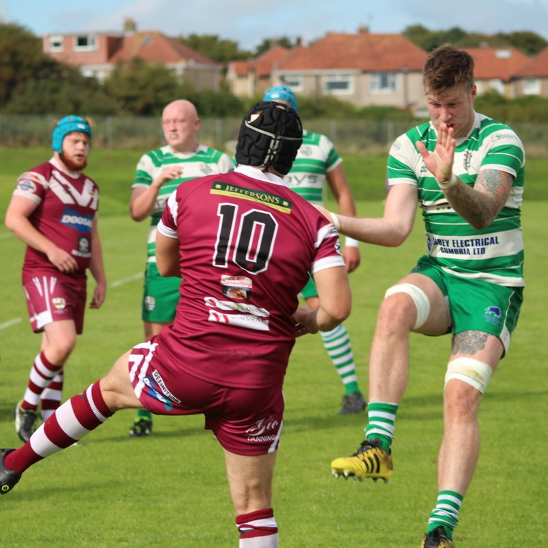 Wigton victorious following powerful display at Hawcoat Park
