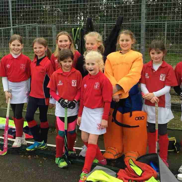 25th Match Girls U10 Match Report