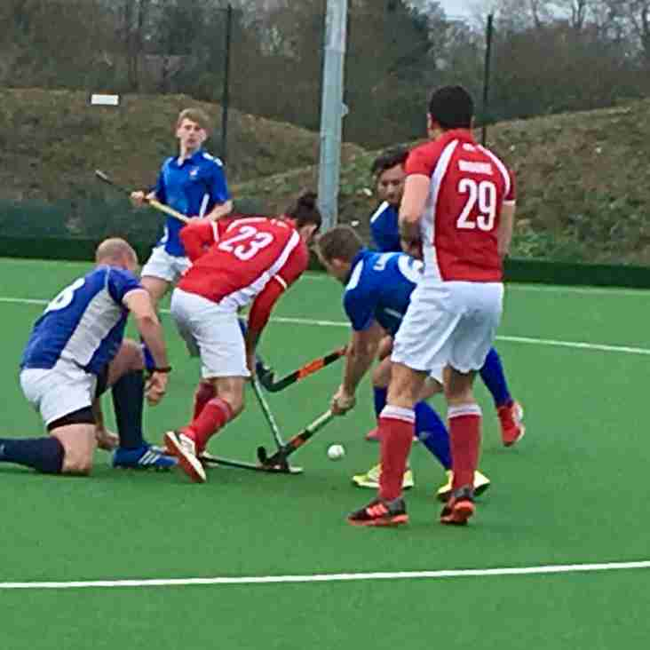 Cup is Match Report: 6th Jan Mens 1st XI