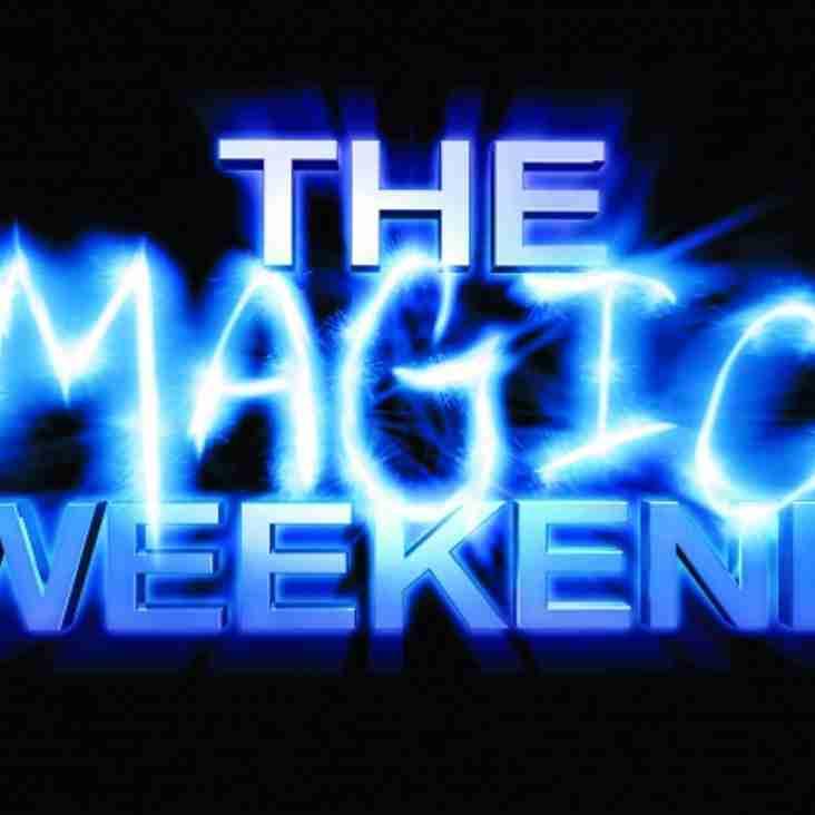 MAGIC WEEKEND TICKETS