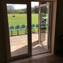 New Patio Doors courtesy of Normandy Windows