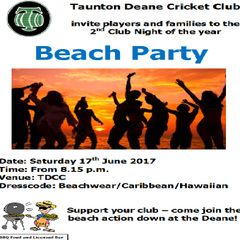 Beach Party Night 2017