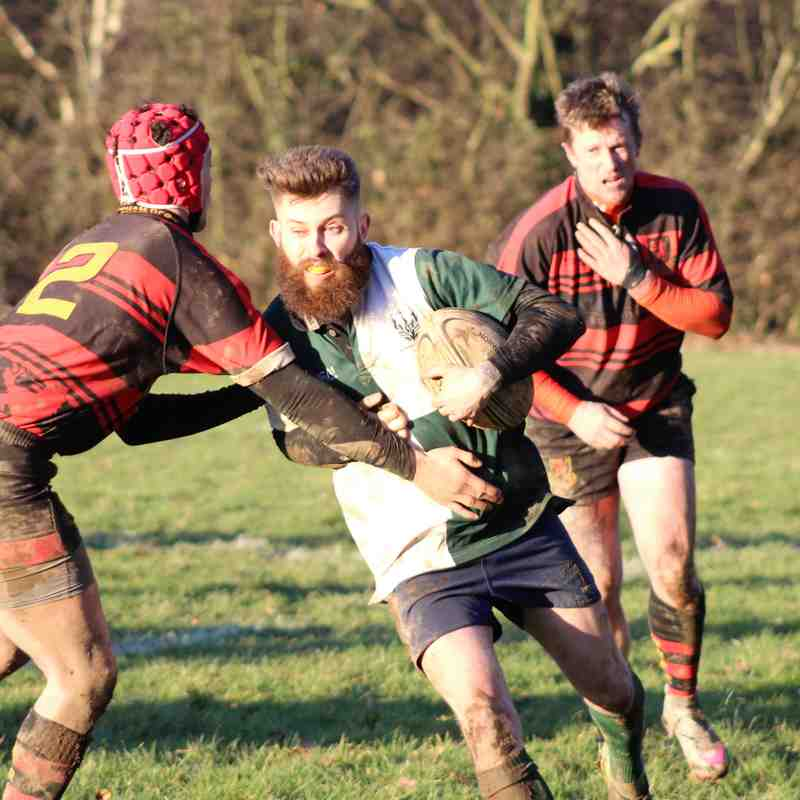 NURFC 43-20 Wymondham 2s 14-Jan-2017