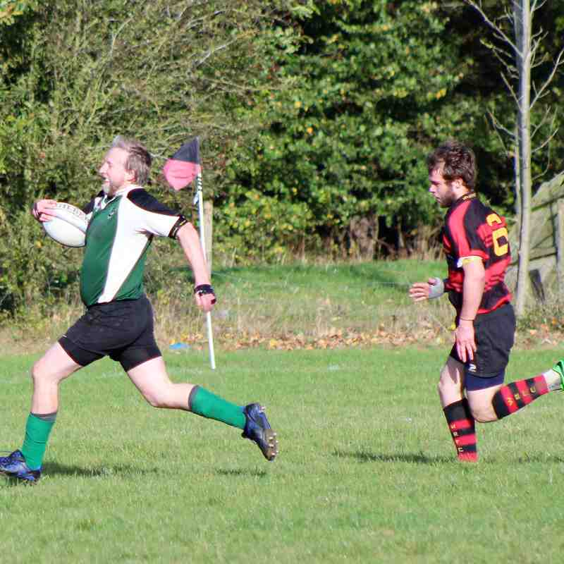 Wymondham 3s 55-22 NURFC Firebirds 21-Oct-2017