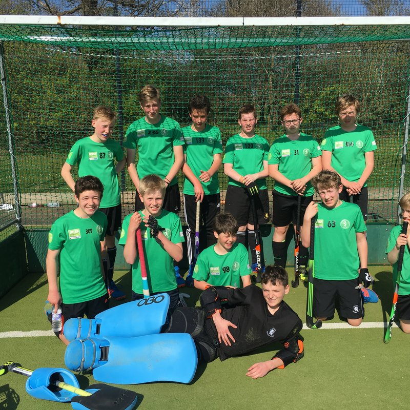 Crowborough vs. Lewes Hockey Club