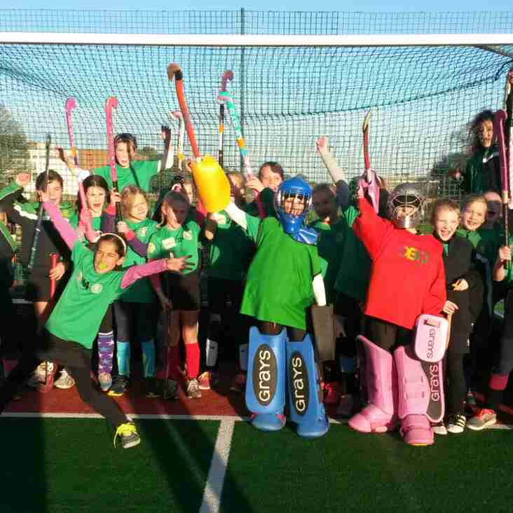Lewes Girls u12s and Boys u10s win the East Sussex County 'Ron Easton' tournament on Sunday 19th November at Eastbourne