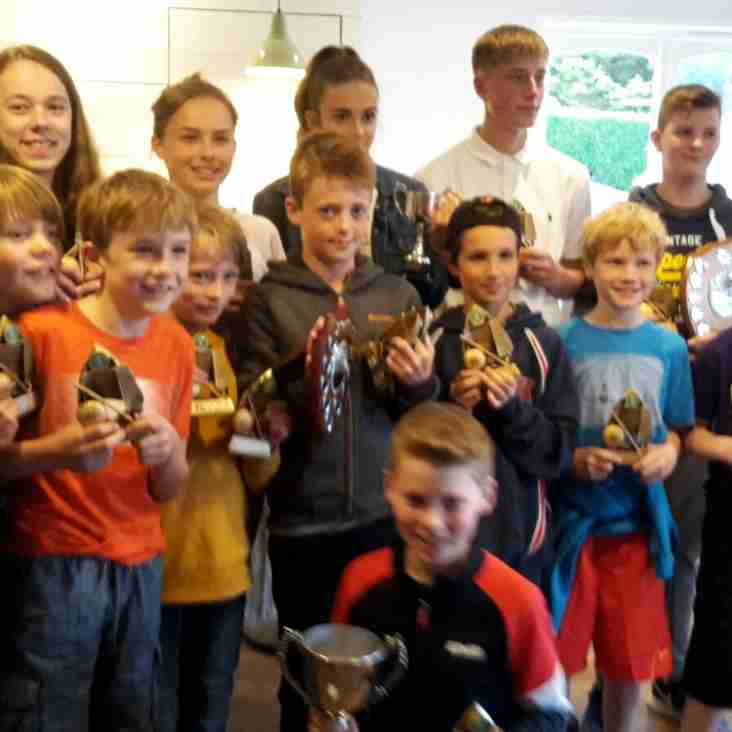 Junior awards winners