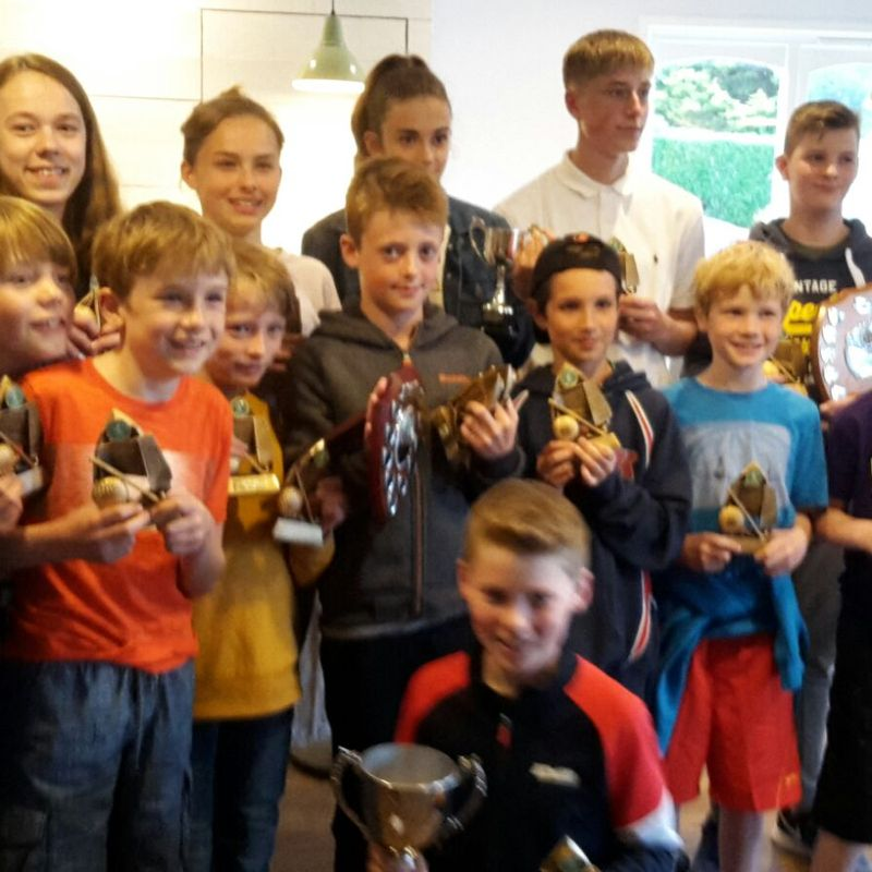 Junior awards winners
