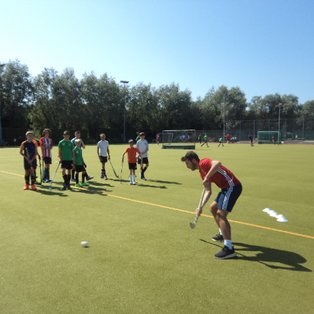 England Internationals put Lewes u18 Players through their paces