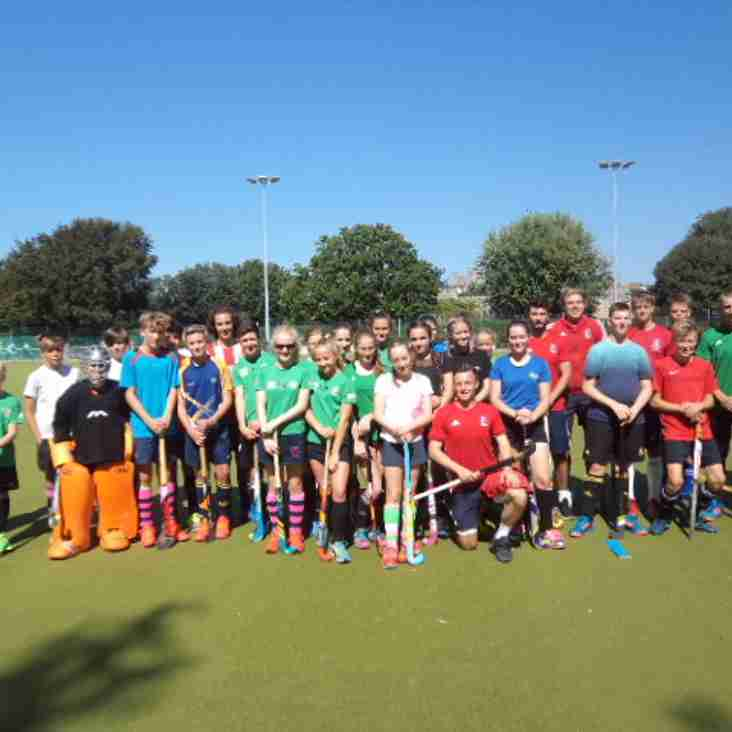 Sunday Morning Junior Hockey - u12s and u10s -starts this Sunday 9th September