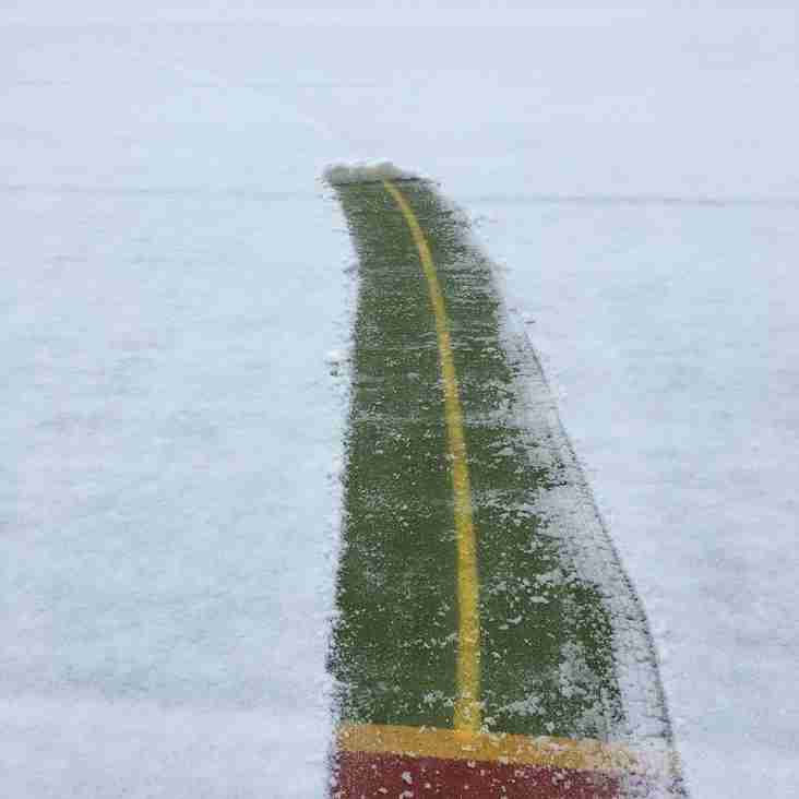 Sunday 3rd February U8s cancelled - u10s pitch inspection at 0945